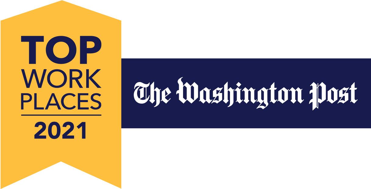 THE WASHINGTON POST NAMES JRC Integrated Systems, Inc. A  2021 TOP WASHINGTON-AREA WORKPLACE